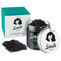 Activated Charcoal Teeth Whitener Tooth and Gum Powder by Smile Angel. An All Natural Safe...
