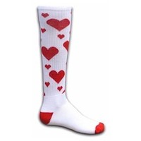 """BE MY VALENTINE"" HEART SOCKS"