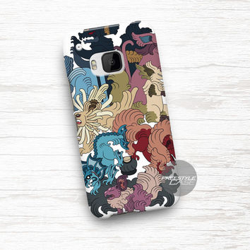 Art Pokemon Mayan Charackter HTC One Case Cover Series