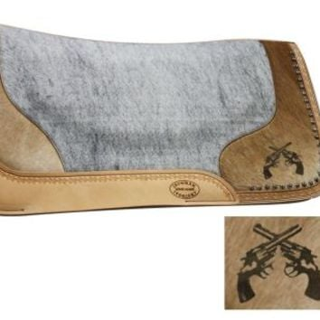 Showman Saddlery Double Pistol Saddle Pad| Discount Tack