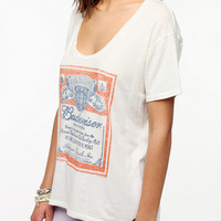 Urban Outfitters - Junk Food Budweiser Scoopneck Tee