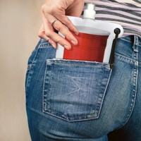 Pocket Party Collapsible Flask