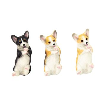 Playing Corgi Magnet (Upward Facing)