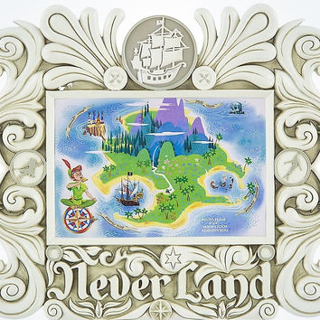 "Disney Parks Peter Pan Neverland 4""x6"" Photo Picture Frame New"