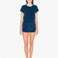 Loop Terry T-Shirt Romper | American Apparel