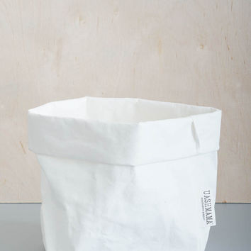 White Paper Storage Bag - Small