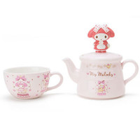 My Melody Porcelain Tea Pot Cup Set Fairy Tale Dome ❤ Sanrio Japan