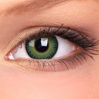 Amazon.com: iColor Complete Contact Lenses - Green: Health & Personal Care