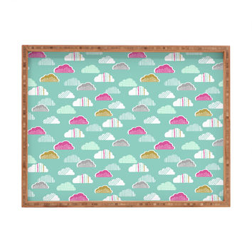 Wendy Kendall Petite Clouds Rectangular Tray