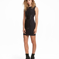 Dress with Lacing - from H&M