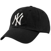47 Brand New York Yankees Black-White Cleanup Hat