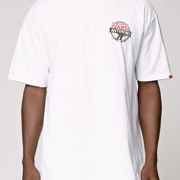 Vans - Anti Hero T-Shirt - Mens Tee - White