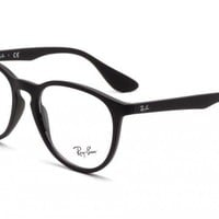 Glasses vista Ray-Ban RX7046 5364 RUBBER BLACK