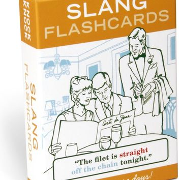 Slang Flashcard Set - PRE-ORDER, SHIPS IN APRIL