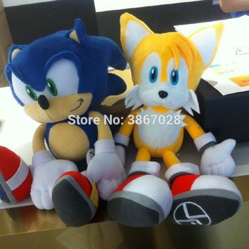"""NEW  the Hedgehog 15"""" """" Boom""""  Tails stuffed Plush Doll gift large"""