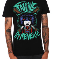 Falling In Reverse Wolf Slim-Fit T-Shirt | Hot Topic