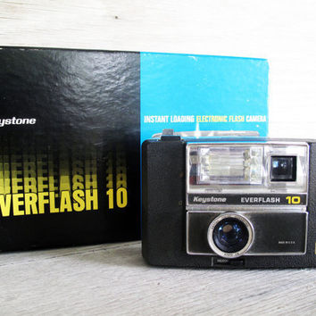 SALE ITEM  Vintage Keystone Everflash 10 Camera by LetterKay