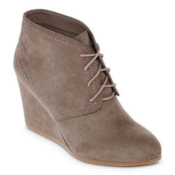 Arizona Lacie Wedge Ankle Booties From Jcpenney