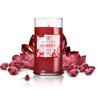 January Birthstone: Garnet Jewel Candle With a Ring and a Chance to Win a $10k Ring