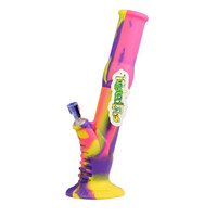 Twisted Labs Purple Pink & Yellow Silicone Water Pipe