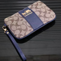 COACH Woman shopping  hand bag Blue