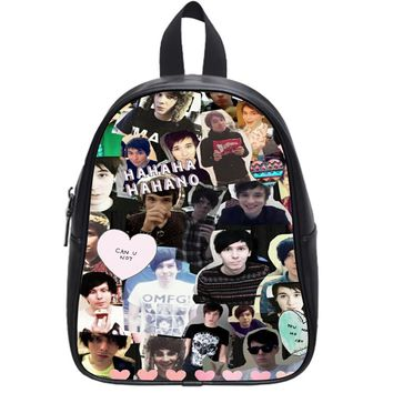 Danisnotonfire And Amazingphil Cases For Iphone 6 School Backpack Large