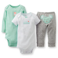 3-Pack Bodysuit & Pant Set