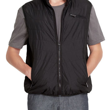 LE3NO Mens Lightweight Basic Puffer Vest with Pockets