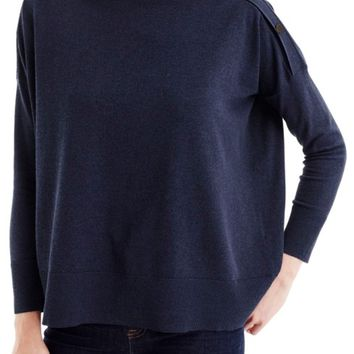 J.Crew Button Boatneck Sweater   Nordstrom