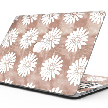Brown Watercolor Flowers V2 - MacBook Pro with Retina Display Full-Coverage Skin Kit
