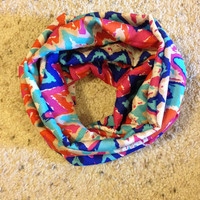 Multi-Color Infinity Scarf/Spring Scarf from Nicole Ray