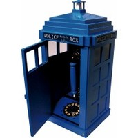 TARDIS Style Telephone By Steepletone - Is The Doctor In There? Why Not Buy One And Find Out?