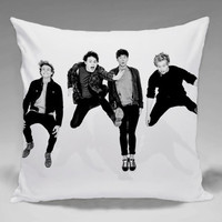 5SOS Black White  - Square and Regtagular Pillow Case One Side/Two Side.
