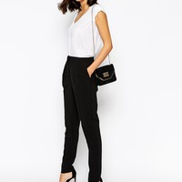 Warehouse Soft Peg Trousers