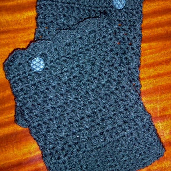 Boot Cuffs with Buttons. Knee Warmers. Boot Toppers