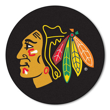 Chicago Blackhawks NHL Puck Mat (29 diameter)