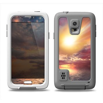 The Fiery Metorite Samsung Galaxy S5 LifeProof Fre Case Skin Set