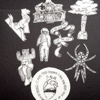 Bands Sticker Set