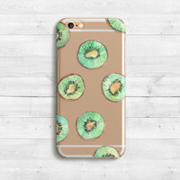 Kiwi Cover Silicone Case iPhone SE iPhone 6s 6s plus 6 iPhone 5 case iPad Mini iPad Air Samaung Galaxy S6 S7 Green case, Tropical case