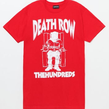 The Hundreds x Death Row Records Classic T-Shirt at PacSun.com