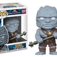 Funko Pop Marvel: Thor Ragnorok Korg Collectible Vinyl Figure