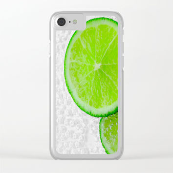 lemon Clear iPhone Case by abeerhassan