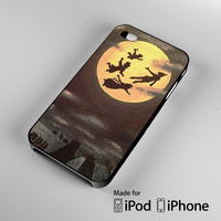 Peter Pan Moon Vintage A1228 iPhone 4 4S 5 5S 5C 6, iPod Touch 4 5 Cases
