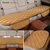 Karcle Universal Plush Car-covers Thickening Velvet Car Cover Protector Car-styling Warm Seat Cushion Automobiles Accessories