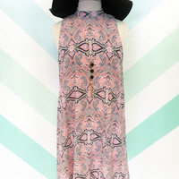 Pinkly Paisley Dress