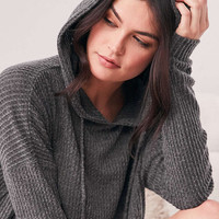 Out From Under Farrah Thermal Hoodie Sweatshirt - Urban Outfitters