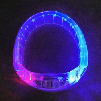 Jewelry Shiny Stylish Gift New Arrival Led Lightning Plastic Creative Ring [4915331844]