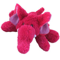 Kong Cozie Elmer the Elephant Plush Dog Toy