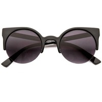 80s - Vicki Women's Half Frame Sunglasses (more colors)