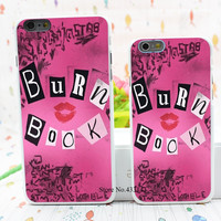 the Burn Book Mean Girls movie Style Hard White Cover Skin Back Case for iPhone 6 6s 6 plus